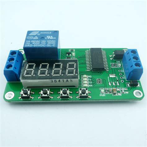 delay timer relay module wiring diagram delay