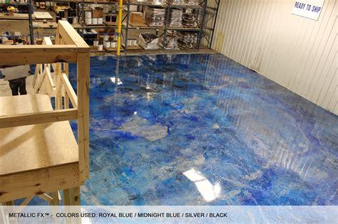 surfkoat new metallic coatings on concrete floors