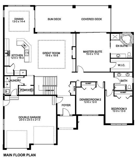 Mediterranean Ranch House Plans by Floor Plan Of Mediterranean Ranch House Plan 96216
