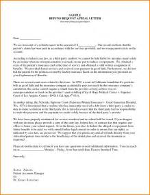 8 appeal letter sle quote templates