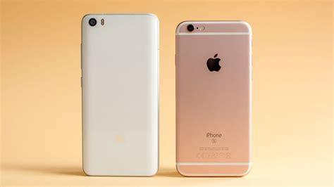 Mi 5 S xiaomi mi 5 vs iphone 6s comparison apples to apples
