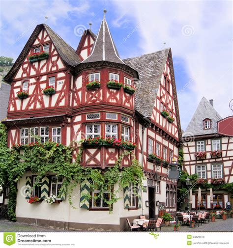 german house traditional german house stock images image 24628974