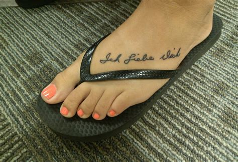 i love you more tattoo i you more foot www pixshark images