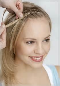 frisuren für lange haare geflochten anleitung frisuren mittellang geflochten