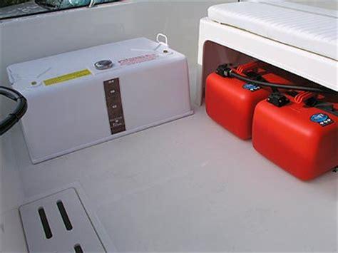 boat gas tank sealant pate plastics boston whaler 170 montauk fuel tank review