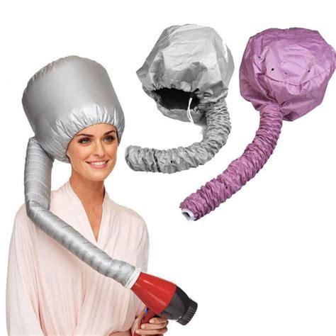 Diy Portable Hair Dryer 2pcs portable soft hair drying cap bonnet hat