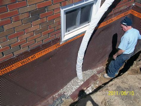 how to fix a leaky basement wall stop leaking basement from outside without tearing your basement apart