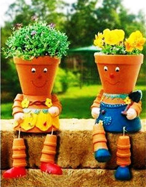 cute planters cute garden planters garden pinterest