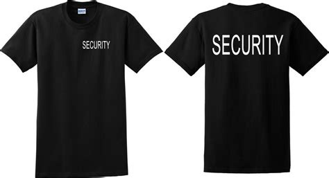 Tshirt Event Security security t shirt event bouncer staff guard crowd