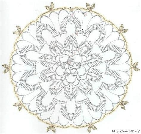 pattern in video karera favoloso centrino con i colori delle feste uncinetto