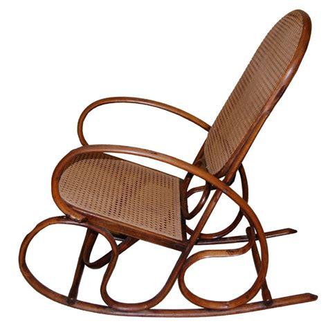 thonet bentwood rocking chair 119866 sellingantiques co uk thonet style bentwood rocking chair c697 284413