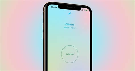 chimera 1 0 4 ipa of ios 12 jailbreak update for iphone xs xr pro released