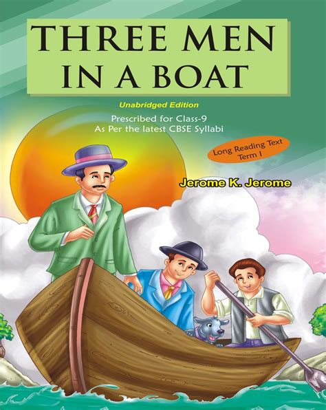 summary of novel three man in the boat in english welcome to tarun publications
