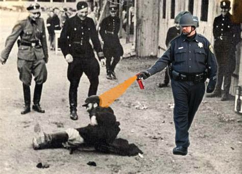 Pepper Spray Cop Meme - image 205799 casually pepper spray everything cop