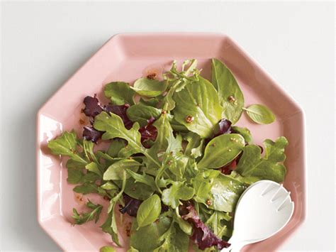 Simple Side Salad With Herbs Chagne Vinaigrette by Paleo Diet 101 Cooking Light