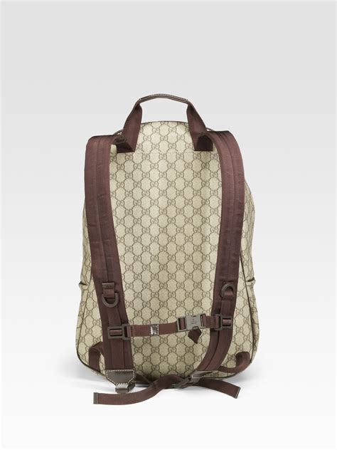 Backpack Gucci Gd 1 gucci gg plus backpack in for lyst