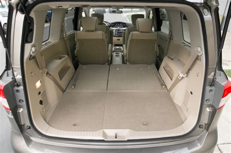 nissan quest seats fold down 2014 nissan quest le rear seats down photo 53