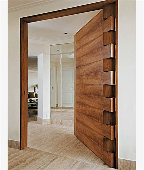 Pivot Hinges For Interior Doors Door Designs From Brazil Part 1 The Boxtail Hinge Core77