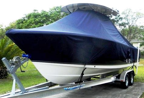 custom sea hunt boat covers t top boat cover elite 1349 ttopcovers t top or hard top
