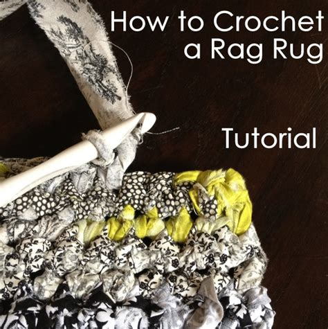 How To Crochet A Rag Rug Tutorial Nobleknits Knitting Blog How To Crochet A Rag Rug