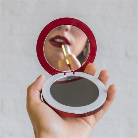 pearl compact mirror usb battery pack hypershopcom