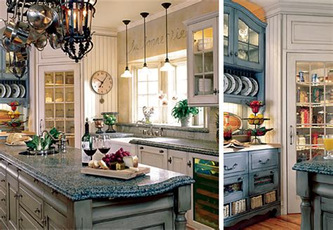 Blue Kitchen Decor Ideas Country Kitchen Decor Ideas 2016