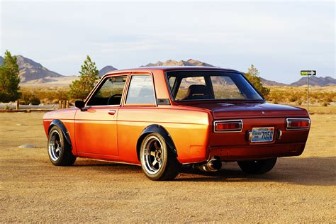 srsunburst 1970 datsun 510 with sr20det for sale in