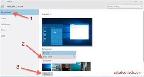 wallpaper windows 10 slideshow windows 10 how to create slideshow background ask