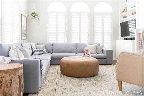 decorating living room with sectional sofa designing a small living room with a large sectional
