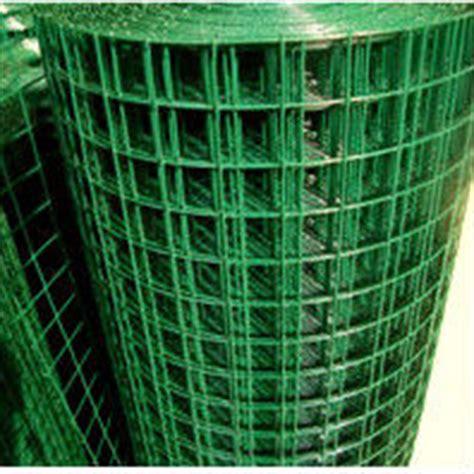 Jaring Hijau pvc dilapisi kawat besi jaring warna hijau besi wire