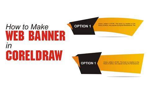 design banner in coreldraw design banner in coreldraw