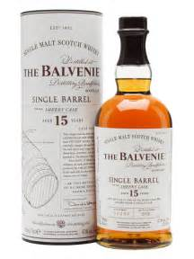 The balvenie 15yr single barrel sherry cask single malt scotch whisky