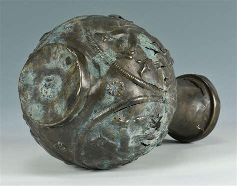 silver vase inc lot 297 ancient near eastern silver vase