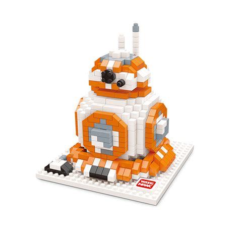 L6429 Loz Lego Nano Block Wars Darth Vade Kode Pl6429 2 wars figures diy assemble master yoda darth
