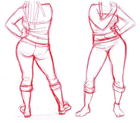 Drawing Legs by How To Draw Human Legs