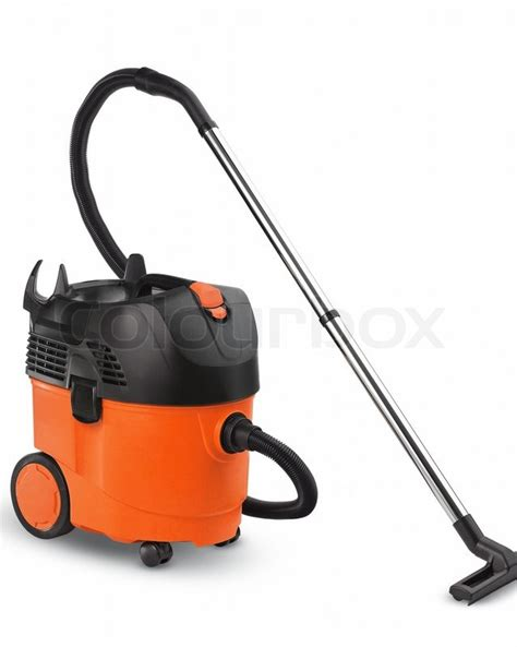 Vacuum Cleaner Merk Orange orange vacuum cleaner isolated on white background stock