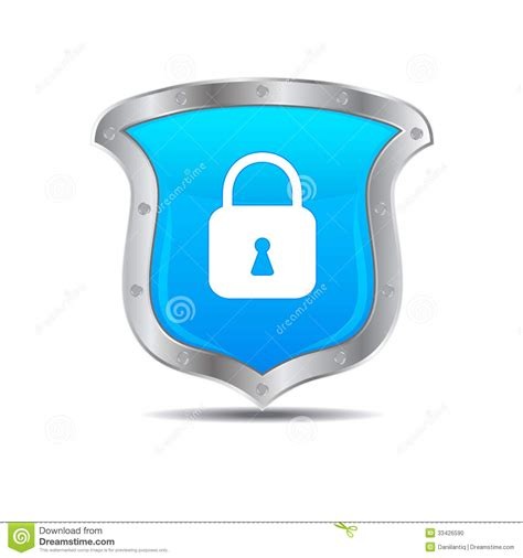 Shields Lock In by Glossy Shields And Lock Stock Photo Image 33426590