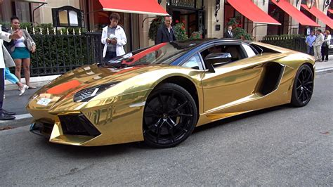 gold convertible lamborghini gold lamborghini aventador roadster loud driving