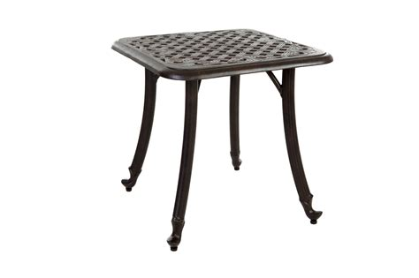 small metal table small metal patio table pair of small metal patio side