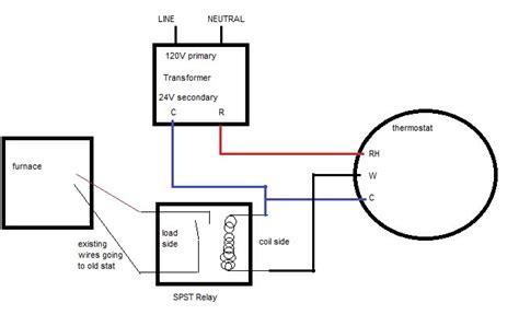 honeywell thermostat relay wiring diagram somurich