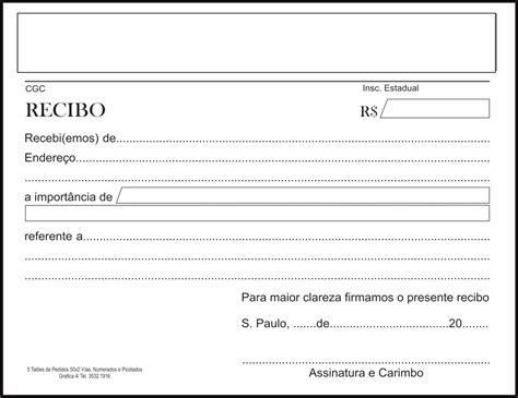 modelo de recibo para uocra modelos de recibo de aluguel para imprimir