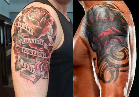 badnew tattoo wade barrett s tattoos updated wade barrett fanpop