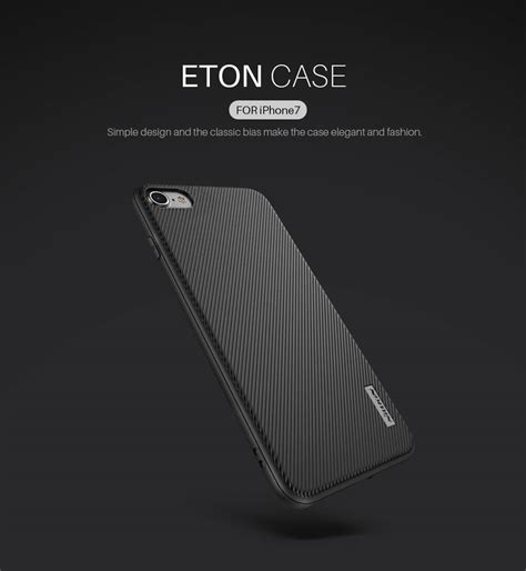 Casing Slim Tpu Black Iphone 8 nillkin eton series protective for iphone 7 plus 8