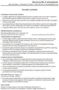 administrative assistant resume should be well noticed if executive assistant resume sle http jobresumesle
