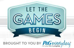 P G Sweepstakes - enter to win the p g let the games begin sweepstakes