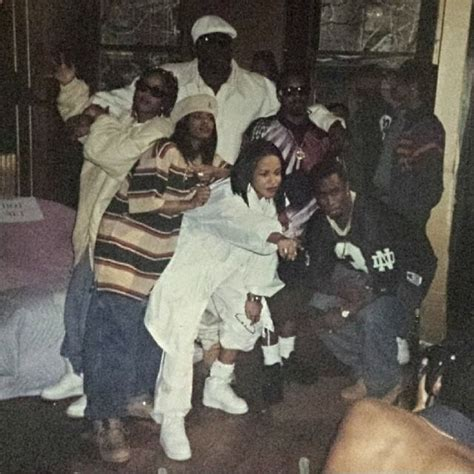 More Pictures On The Set Of And The City by Aaliyah Diddy Da Brat Jermaine Dupri On The Set Of