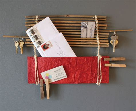 Handmade Wall Hangings Ideas - wall decor bamboo wall organizer stunning handmade