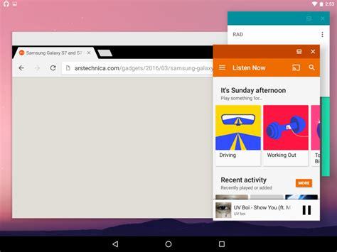 multi window android multi window libero su android n gexperience