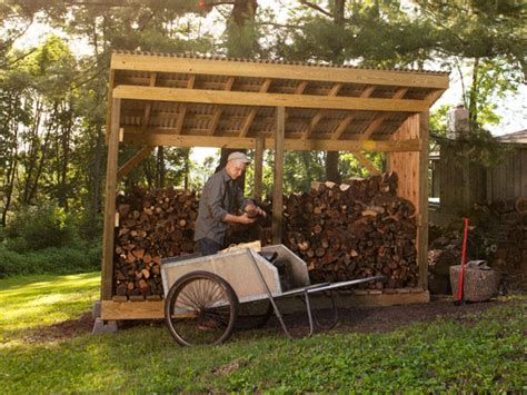 How To Build Firewood Shed by How To Build A Firewood Shed