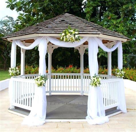 gazebo decorations wedding gazebo wedding ceremony gazebo decorations